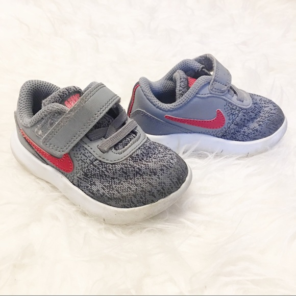 8e42b23c6bba5 Nike Flex Contact Running Shoe Baby Boy Size 5. M 5c37f3bc6a0bb7f64e2923a3